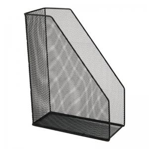 Лоток вертикальный AXENT 100x250x320мм металлический, черный