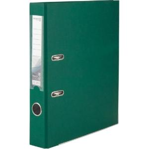 Регистратор односторонний Axent А4/5 см, темно-зеленый