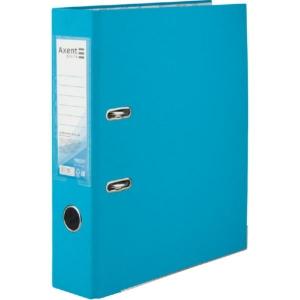 Регистратор односторонний Axent А4/7,5 см, светло-голубой