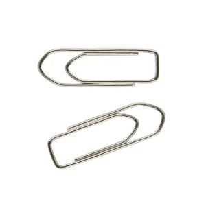 Скрепки Axent пятиугольные никелированные, 28 мм, 100 шт. (4113-A)