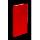 Регистратор с кольцевым механизмом A4/2R/35мм, красный
