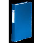 Регистратор с кольцевым механизмом A4/2R/40мм, синий