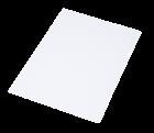 Папка-уголок 120мкм А4 прозрачная Economix