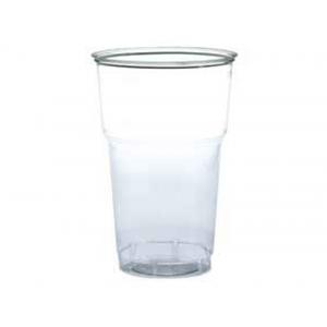 Склянки пластикові 500мл 50шт. прозорі