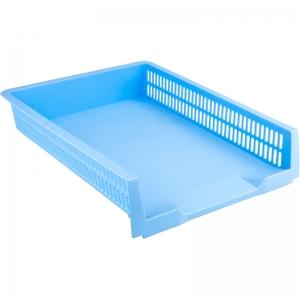 Лоток горизонтальный AXENT Pastelini, голубой