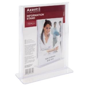 Табличка інформаційна Axent 4539-A, А5, 146х208 мм