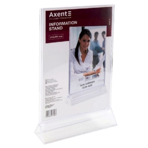 Табличка інформаційна Axent 4542-A, А4, 210х297 мм