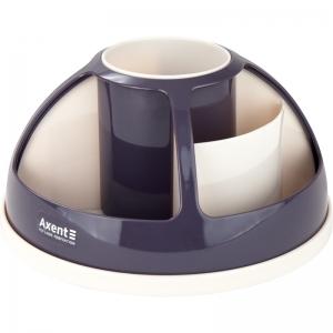 Подставка-органайзер AXENT Duoton, в коробке, сливовая (2204-11-A)