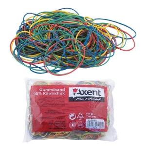 Резинки для денег Axent 4611-A цветные, 200 г