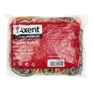 Резинки для денег Axent 4612-A цветные, 500 г