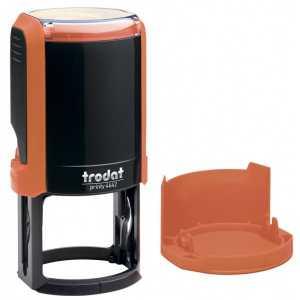 Оснастка для круглой печати Trodat 4642, оранжевая