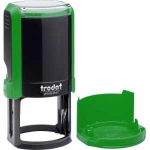 Оснастка для круглой печати Trodat 4642, зеленая