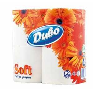 Бумага туалетная Диво soft, 2 слоя, 4рул. белая