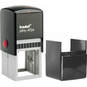 Оснастка для круглой печати Trodat 4924 (4940), черная