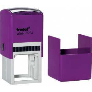 Оснастка для круглой печати Trodat 4924 (4940), фиолетовая