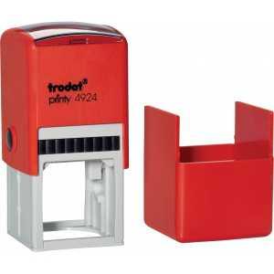 Оснастка для круглой печати Trodat 4924 (4940), красная