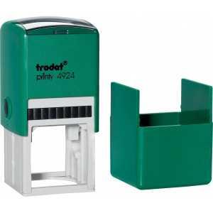 Оснастка для круглой печати Trodat 4924 (4940), зеленая