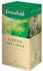 Чай Greenfield Green Melissa зелений 25п * 1,5г