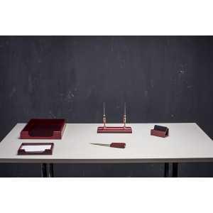 Набор настольный 5 предметов, красное дерево (5159XDU)