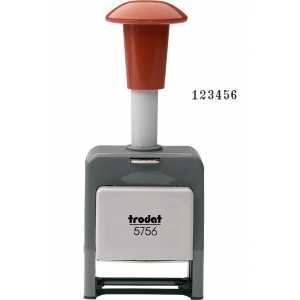 Нумератор Trodat 5756/P 6-ти разрядный, шрифт 5,5мм