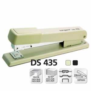 Степлер Kangaro DS-435, асорті