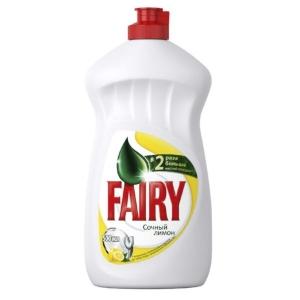 Засіб для миття посуду FAIRY 500мл Лимон