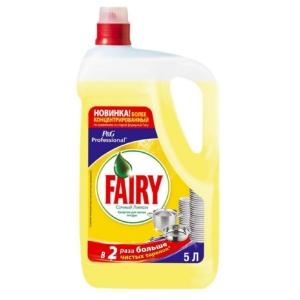 Засіб для миття посуду FAIRY 5л Лимон