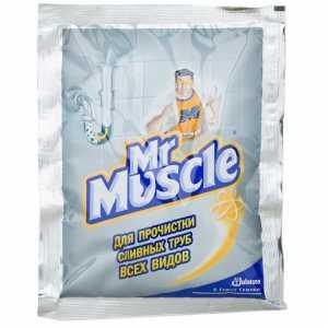Средство для прочистки труб мистер Мускул 70 г