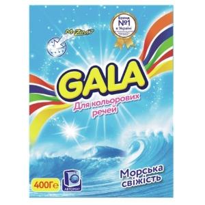 Стиральный порошок GALA 400г автомат Color