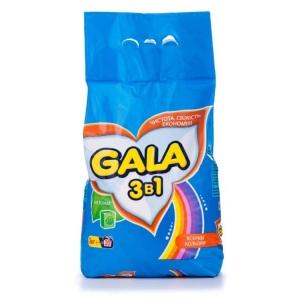 Стиральный порошок GALA 3 кг автомат Color