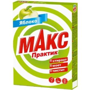 Стиральный порошок МАКС Практик 350г Яблоко
