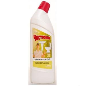 Засіб для догляду за унітазами Чистюня Лимон 1л