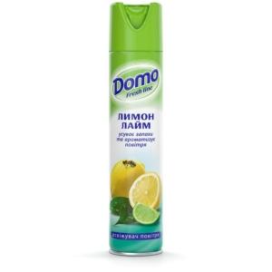 Освіжувач повітря аерозоль DOMO Fresh Line Лимон-лайм 300 мл