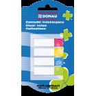 Закладки пластикові Donau DESIGN з клейким шаром