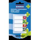 Закладки пластиковые Donau DESIGN с клейким слоем