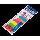 Закладки пластиковые Donau NEON с клейким слоем