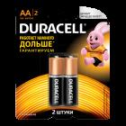 Елемент живлення Duracell LR06 (ААА), 1 шт.