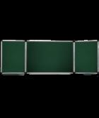 Доска настенная для маркера 300х120см трехсекционная ABC