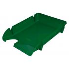 Лоток для бумаг Компакт горизонтальный, зеленый