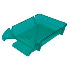 Лоток для бумаг Компакт горизонтальный, салатовый