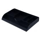 Лоток пластиковый для канцелярских мелочей, черный