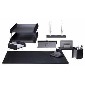 Набор настольный 8 предметов, черный (8237FDB)