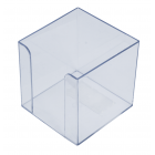 Бокс для бумаги  90х90х90мм прозрачный