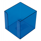 Бокс для паперу 90х90х90мм блакитний
