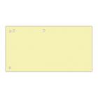 Розділювачі картонні 100шт / уп. жовті
