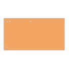 Разделители картонные 100шт/уп. оранжевые