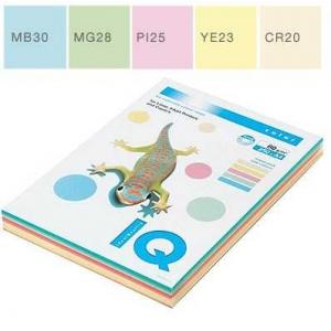 Набор цветной бумаги IQ Color, А4/80 (5х50/250л.), RB01