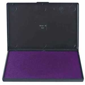 Штемпельная подушка Trodat 11х7см, фиолетовая