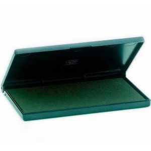 Штемпельная подушка Trodat 16х9см, зеленая
