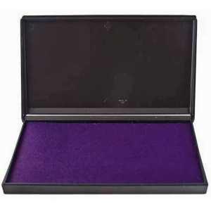 Штемпельная подушка Trodat 16х9см, фиолетовая